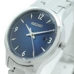 セイコー 腕時計 レディース SEIKO ネイビー シルバー