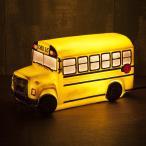 スクールバス型 ナイトランプ LED ライト 照明 アメリカン雑貨 アンティーク風 グッズ