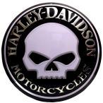 ショッピングハーレーダビッドソン ハーレーダビッドソン ブリキ看板 ドーム型 メタル プレート Harley Davidson Willy Button バイク ハーレー グッズ インテリア 看板 世田谷ベース