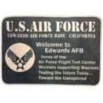 アメリカン フロアマット U.S.Air Force USAF アメリカン雑貨 アメカジ インテリア マット ファブリック 世田谷ベース