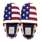 アメリカン スリッパ (USA) ルームシューズ トイレスリッパ おしゃれ 来客用 アメリカ国旗 星条旗