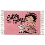 ベティ・ブープ アメリカン コットン マット Betty Boop (PINK) キャラクター ベティちゃん マット グッズ