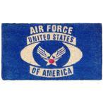 アメリカン 玄関マット ココマット U.S. Air Force (USエアフォース) USAF 世田谷ベース  アメリカン雑貨