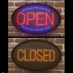 OPEN CLOSED LED 電飾 ボード 照明 看板 アメリカン雑貨