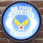 ショッピングエアフォース USエアフォース 世田谷ベース U.S.Air Force ウォールランプ 照明 アメリカン雑貨 インテリア ライト ランプ 看板