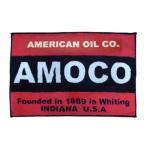アメリカン フロアマット AMOCO アモコ レッド/ブラック アメリカン雑貨 アメカジ マット 世田谷ベース