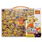 ミニオン  ステッカーセット ドキュメントケース シール ステーショナリー おもちゃ 玩具 Minions ミニオンズ  怪盗グルー 大脱走 かわいい ギフト プレゼント