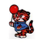 ワッペン Tiger タイガー 虎 トラ 動物 アニマル  レトロ カントリー ファンシー パッチ キャラクター 雑貨 カスタム グッズ 男の子 女の子