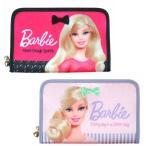 Barbie バービー ジャバラ収納 サテン マルチポーチ 母子手帳ケース パスポート 診察券 カード 収納 バービー グッズ