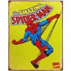 マーベル スパイダーマン ブリキ看板 メタル サイン プレート 看板 ポスター インテリア アメリカン プレゼント ギフト
