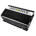 ADVANCE 電源 カーインバーター バッテリー ポータブル電源 DC12V AC100V 定格1000W 最大2000W 50Hz 60Hz