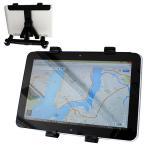 タブレットホルダー iPad タブレット 車載ホルダー 後部座席 車載スタンド スタンド 360度回転可能 2点固定タイプ (クーポン配布中)