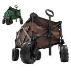 MERMONT バギーワゴン  折りたたみ ストッパー付き アウトドア キャリーカート 台車 耐荷重90kg 4輪 キャスター付 キャリーワゴン