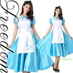 セールsaleハロウィンアリス不思議の国のアリスメイドディズニーコスプレ衣装「ふしぎの国のアリス」の定番アリス風ドレスメイドコスチューム