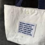 ハンドメイドにBig刺繍タグ5枚セット‐NOTHING(白×紺)