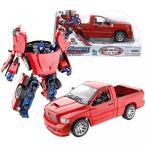 """""""トランスフォーマー""""Hasbro Year 2005 Transformers Alternators Series 7 Inch Tall Robot Figure - Autobot Leader OPTIMUS PRIME with Blaster and Flip"""