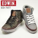 EDWIN エドウィン メンズ ハイカット カジュアル スニーカー ED-7657