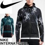 ナイキ NIKE メンズ ジャケット パーカー 男性用 フード ランニング トレーニング スポーツ ジム ポケット マラソン ジョギング ウォーキング 防寒 保温/802368
