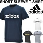 Tシャツ 半袖 メンズ アディダス adidas ESSENTIALS 半袖シャツ ロゴT トレーニング スポーツ カジュアル ウェア 丸首 男性 トップス/EMR81