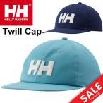 キャップ 帽子 メンズ レディース/ヘリーハンセン HELLY HANSEN/コットン アウトドア スポーツカジュアル セーリング 海 HHロゴ 正規品 Twill Cap/HC91652