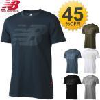 メンズ 半袖 Tシャツ NewBalance ニューバランス ビッグロゴ ショートスリーブT ユニセックス トップス 男性用 スポーツウェア カジュアルウェア/JMTL6859