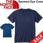 ショッピングNORTH THE NORTH FACE メンズ ランニングシャツ ザノースフェイス 半袖 Tシャツ インディゴ染め 男性用 トレーニング ジム アウトドア カジュアル ロゴ/NT11692