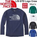 ショッピングNORTH Tシャツ 長袖 ランニング メンズ ザノースフェイス THE NORTH FACE L/S GTDロゴクルー/スポーツウェア 男性用/ NT61887