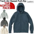 ショッピングNORTH スウェット パーカー レディース ザノースフェイス THE NORTH FACE Tech Air フルジップ フーディ 女性用 トレーニングウェア 正規品/NTW11786