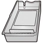 シャープ 冷蔵庫 貯氷ケース 201428180