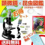 ショッピング自由研究 顕微鏡 最大1200倍 メタル顕微鏡  夏休み 自由研究に 送料無料