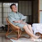 甚平(じんべい)日本製 オリジナル 近江ちぢみ 滋賀麻 紳士甚平(男性用甚平)6柄・M/L