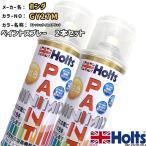 ペイントスプレー 2本セット ホンダ GY27M フレッシュライムメタリック Holts MINIMIX