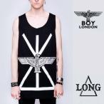 正規品BOY LONDONボーイロンドン LONG CLOTHINGロングクロージング イーグルロゴ+ユニオンジャックのコラボ タンクトップ ロック パンク BOYLONDON