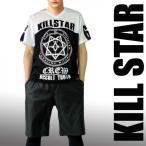 KILL STAR キルスター カルトデザインのホッケーTシャツ ロック パンク ファッション ロックtシャツ ホッケーtシャツ ブランド バンドtシャツ