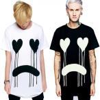 LONG CLOTHING ロングクロージング DRIPPY-WHITE  グラフィックビックTシャツ ロック パンク ファッション ロックtシャツ BOY LONDON ボーイロンドン