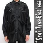 パラシュート シャツ ボンテージ シャツ SEDITIONARIES(セディッショナリーズ) 666 パンク ロック ファッション ロック系 パンク系