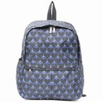 LeSportsac レスポートサック リュック NOHO BACKPACK HOUSE OF HEARTS BLUE
