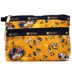 LeSportsac レスポートサック ポーチ COSMETIC CLUTCH GOLDEN