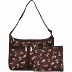 LeSportsac レスポートサック ショルダーバッグ DELUXE EVERYDAY BAG ZINNIA FIELDS