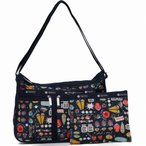 LeSportsac レスポートサック ショルダーバッグ DELUXE EVERYDAY BAG LITTLE JEWELS