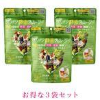 ベジエ グリーン酵素スムージー 3袋セット 200g 10?20回分 ×3 サプリメント ダイエット 置き換え ファスティング 野菜果物発酵エキス ビタミン11種類 ミネラル