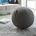 ビボラ Vivora シーティングボール ルーノ シェニール Chenille チャコールグレー 65cm_004666 送料無料 ヴィボラ ヴィヴォラ バランスボール チェア 椅子