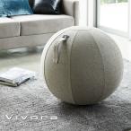 ビボラ Vivora シーティングボール ルーノ シェニール Chenille ベージュ 65cm_004673 送料無料 ヴィボラ ヴィヴォラ バランスボール チェア 椅子 ストレッチ