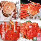 北海道 4大蟹メガ盛り 毛ガニ タラバ ズワイ 花咲 計3.3kg前後 代引き不可 お歳暮 お土産 ギフト