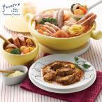 「テルツィーナ」イタリアンセット SD-385 鍋 トマトスープ ソーセージ 鳥もも 豚バラ 肉 イカリング エビ 生パスタ 牛バラ肉のトマト煮込み お取り寄せ ギフト