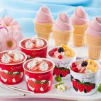 ショッピングお取り寄せ アイスクリーム 芦屋シェフアサヤマ 北海道 夏いちごアイス A-HNA 代引き不可 離島不可 お取り寄せ お土産 ギフト