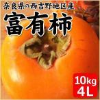 富有柿 奈良県産 10kg箱 4Lサイズ...