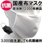 マスク 抗菌 布製 布マスク 抗菌マスク 国産 大人用 ますく フェイスマスク 立体マスク 男女用 女性用 レギュラーサイズ サージカルマスク