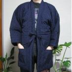 【送料無料】大きいサイズ 3L 和柄半纏「絣〜KASURI〜」かすり 部屋着 防寒対策 冬物和柄半天 メンズ はんてん 女性 子供 通販 日本製 綿入り 袢纏
