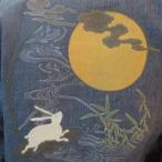 「月見兎サーフィン」大きいサイズ 3L 4L メンズ 和柄 甚平 花火大会 夏祭り 3L,4L,和服,着物【送料無料】